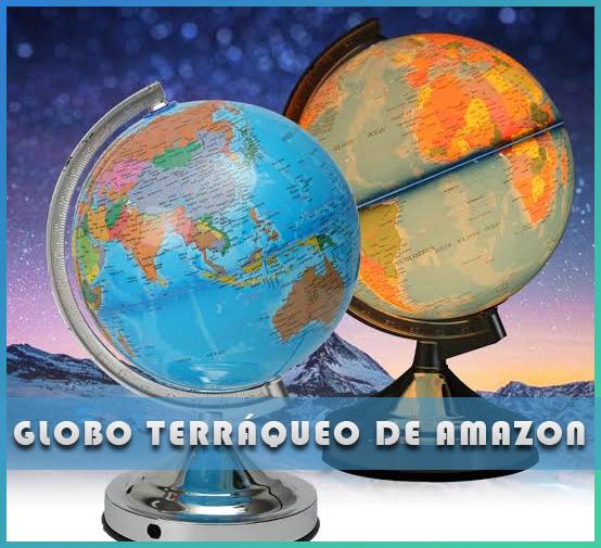 Globo terráqueo de Amazon